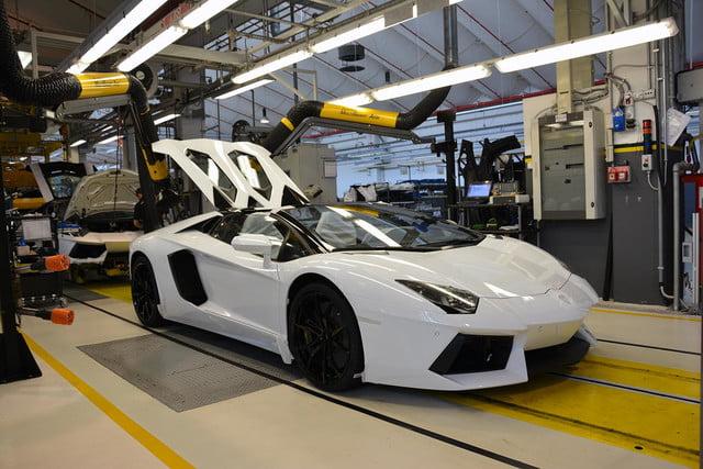 The Manufacturing Process of a Lamborghini